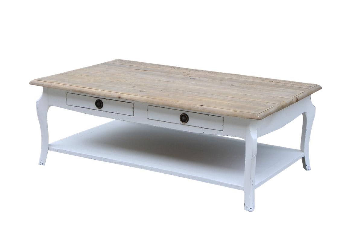 Tavolini Di Salotto.Tavolino Da Salotto Provenzale 127x76x45