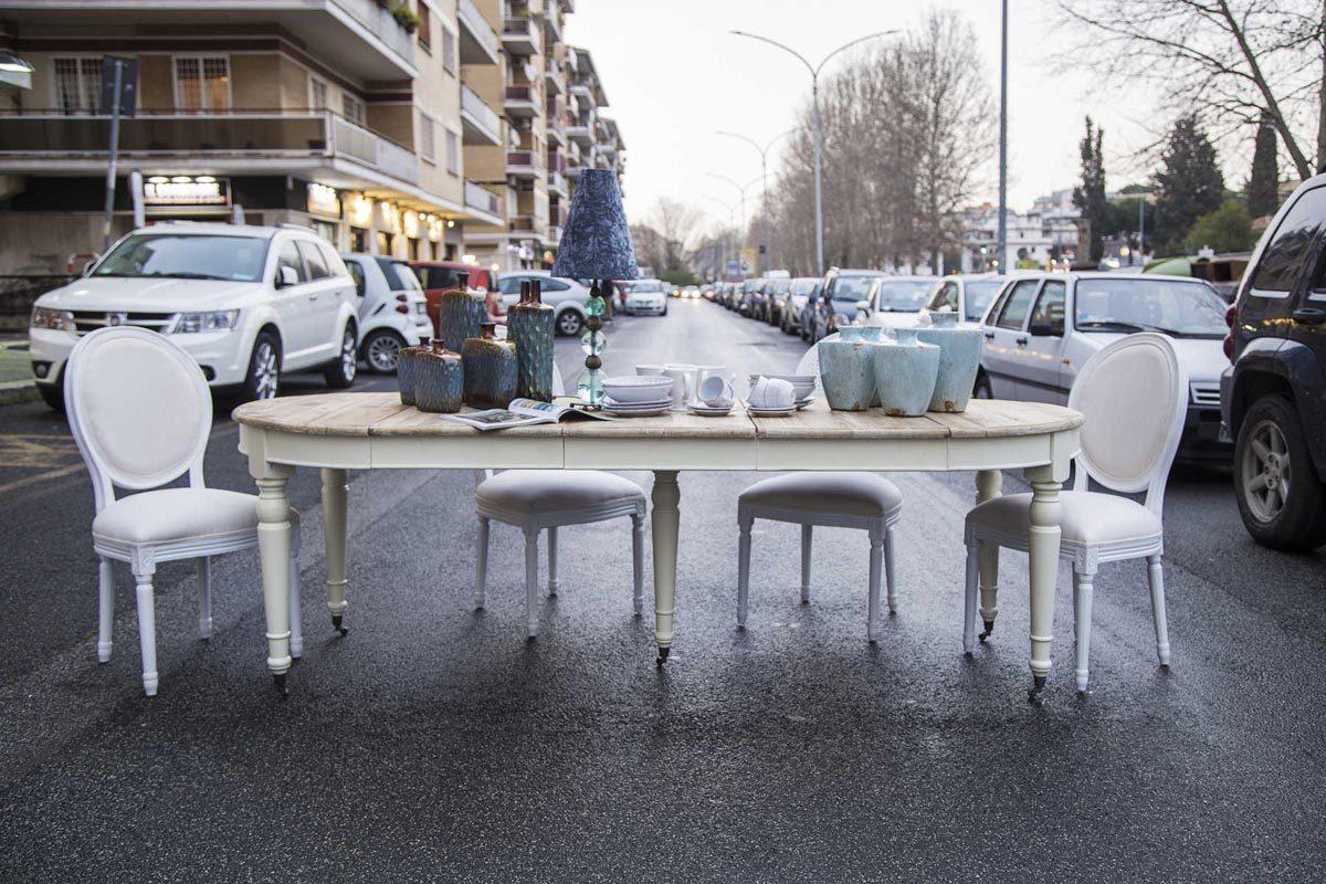 Tavolo Da Pranzo Provenzale Confalone