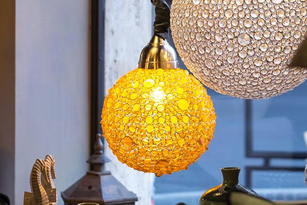 lampadario-bolla-amber