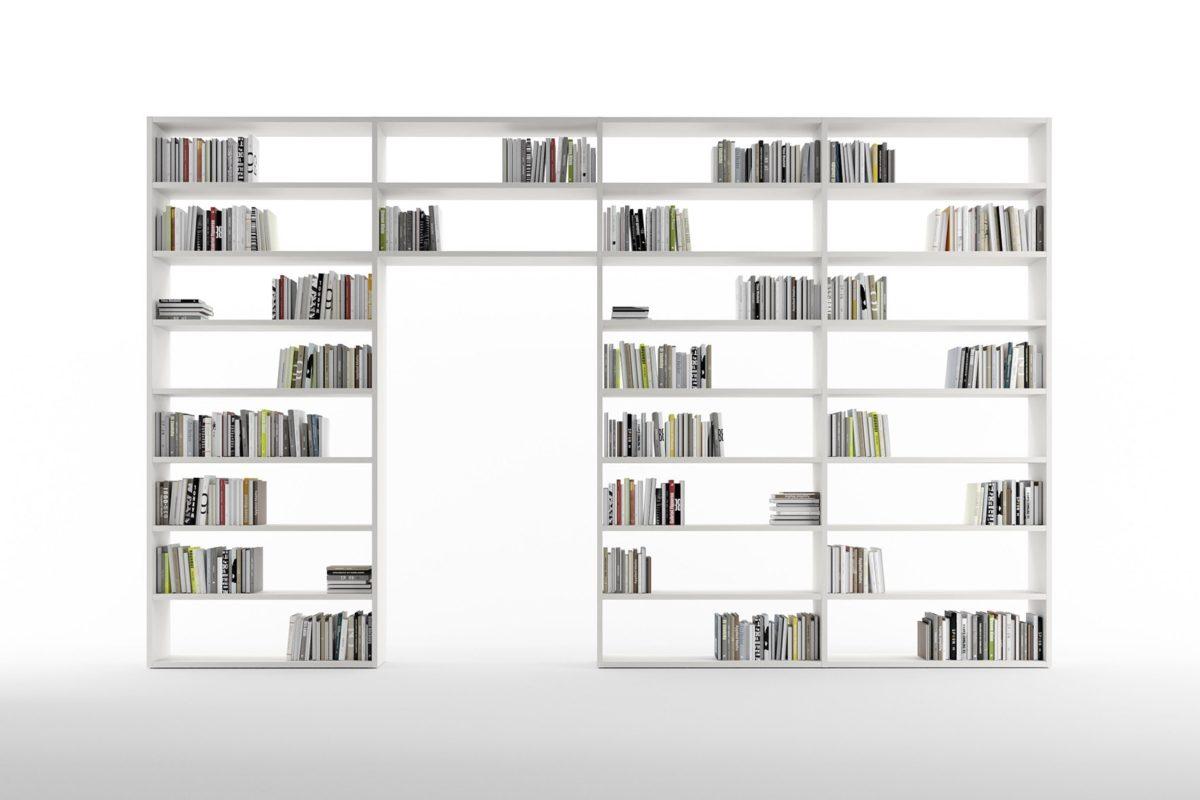 Librerie Componibili A Ponte.Libreria Componibile Sospesa E Sovrapposta Confalone