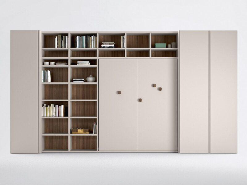 libreria ponte L6 - mod2 armadio