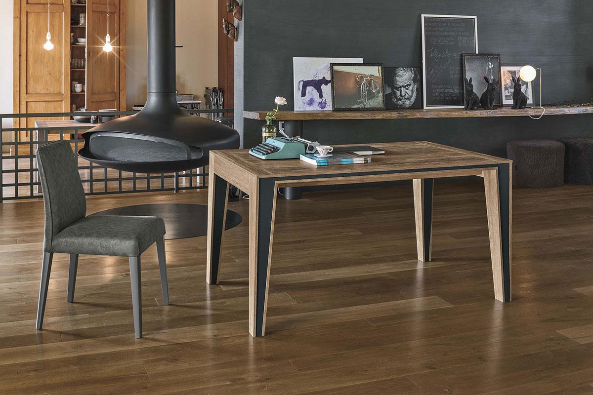 Tavolo da Pranzo Rettangolare (140-274 cm) - Confalone